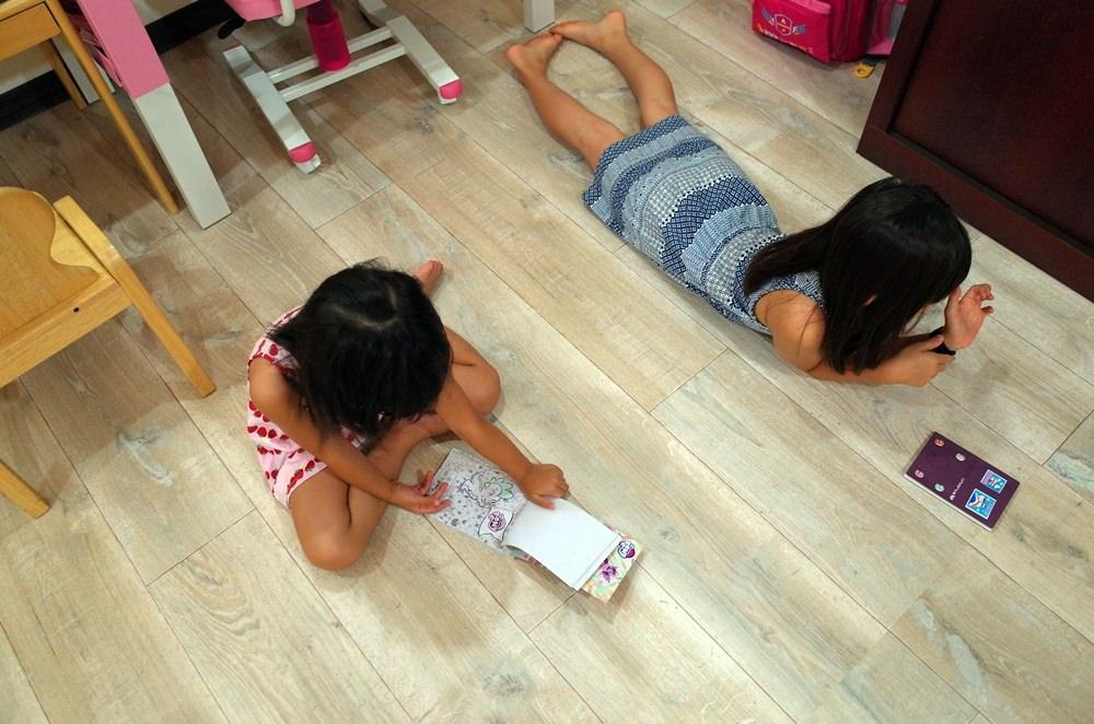 兒童房改造│室內裝潢 、地板裝修 、台灣外銷歐美大廠 富銘地板怡居系列 @蘭妮 3+1 旅食日常