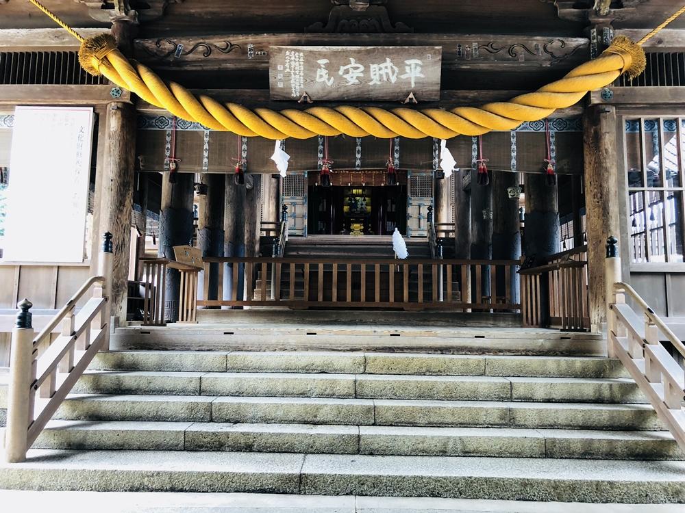 岡山景點│搭公車到吉備津神社,一起來拜訪桃太郎的故鄉、欣賞紫陽花(繡球花)之美